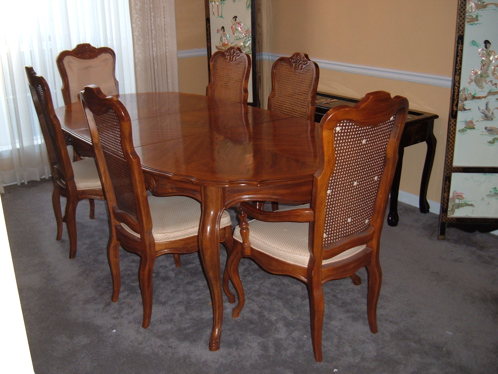 Country Style Dining Room Tables Chic Dining Room French Provincial French Country Dining Table